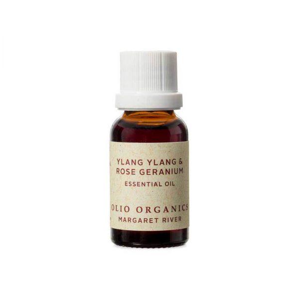 Essential Oils Ylang Ylang and Rose Geranium