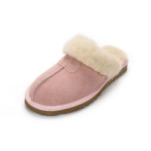 Scuff slippers pink