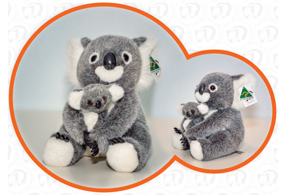 ABT Aussie Koala with baby 12 inch 1