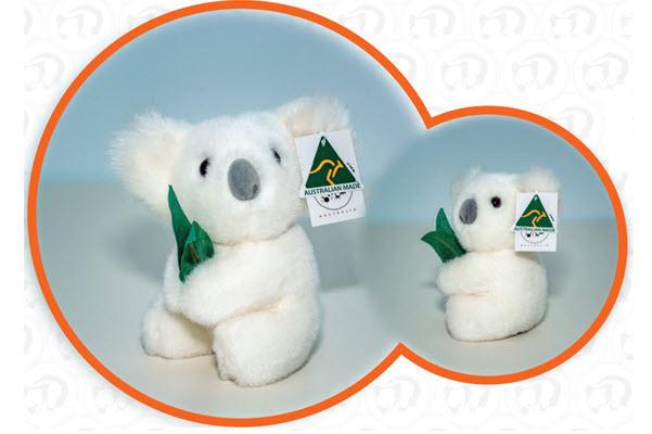 ABT White Koala with gum leaves 7inch