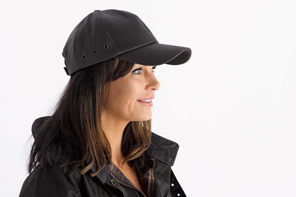 Buffalo leather cap main