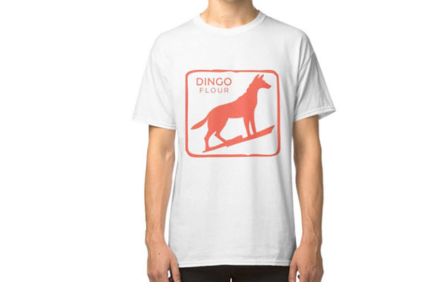 Dingo Flour T Shirt white B