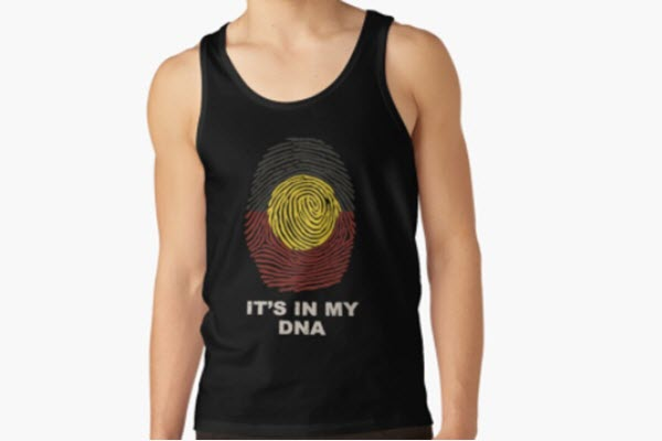 Its in my dna singlet main