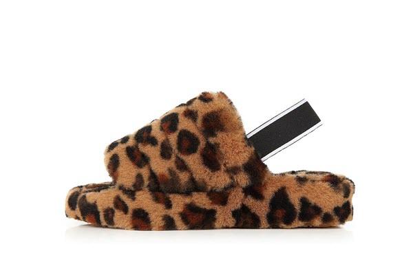 Maxine Slide Leopard