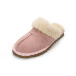 Scuff slippers pink