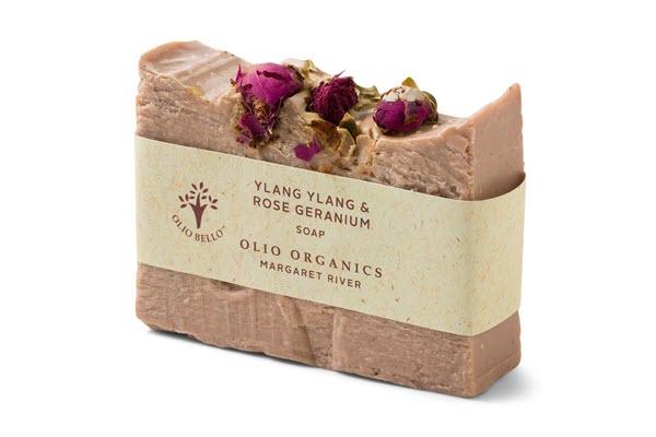 Soap Ylang Ylang and Rose Geranium
