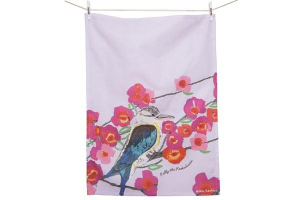 Tea Towel AB Kookaburra 50cm