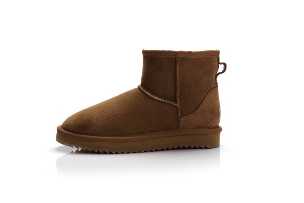 UGS35 Ultra short suede chestnut