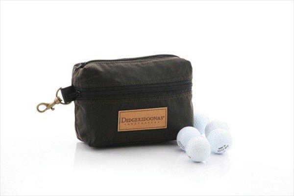 golf ball and tees